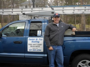 Daniel Fox is a roofer in Framingham MA