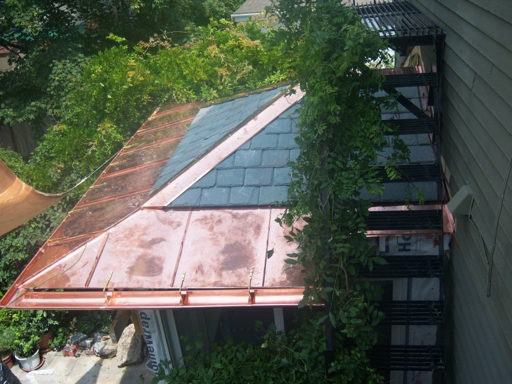 Copper Panels & Gutters